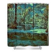 Unseen Wetland Shower Curtain