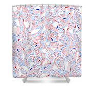 Unsettled Shower Curtain