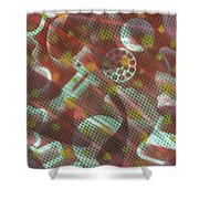 Unsolved Structure Shower Curtain