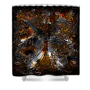 Unsong Shower Curtain