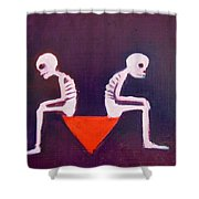 Until Death Do Us Part Shower Curtain