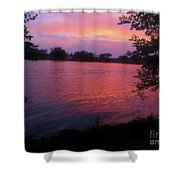 Until December Shower Curtain