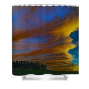Until Now Shower Curtain