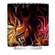 Until The End Shower Curtain