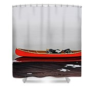 Until The Fog Lifts Shower Curtain