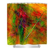 Untitled 0123-10 Shower Curtain