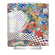Untitled #1 Shower Curtain