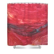 Untitled 106 Original Painting Shower Curtain