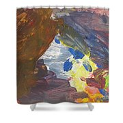 Untitled 139 Original Painting Shower Curtain