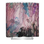 Untitled 140 Original Painting Shower Curtain