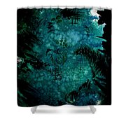 Untitled-175 Shower Curtain