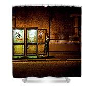 Untitled 2, Darkness Shower Curtain