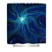 Untitled 4-10-10-b Shower Curtain