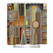 Untitled 42 Shower Curtain