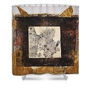 Untitled 5 Shower Curtain