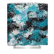 Untitled #6 Shower Curtain