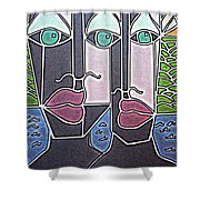 Untitled 77 Shower Curtain