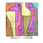 Untitled 781 Shower Curtain