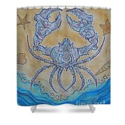 untitled Crab Shower Curtain