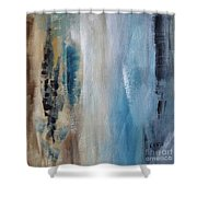 Blue Breeze Shower Curtain