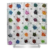 Untitled No 4 Shower Curtain