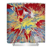 Forces Of Gravity Shower Curtain