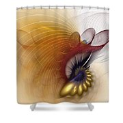 Untitled Study No.601 Shower Curtain