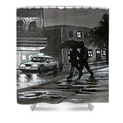 Untitled Two Shower Curtain