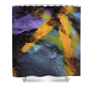 Untitled X 2 Shower Curtain