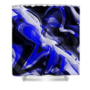 Untitled Xi Shower Curtain