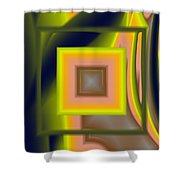 Untitled Xii Shower Curtain