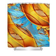 Untitled Xiii Shower Curtain