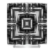 Untitled Xiv Shower Curtain
