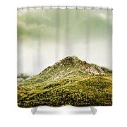Untouched Mountain Wilderness Shower Curtain