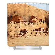 Unusual Rock Formation Shower Curtain