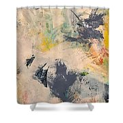 Up A Tree Shower Curtain