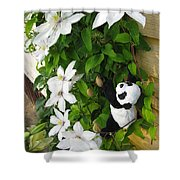 Up And Up And Up Shower Curtain