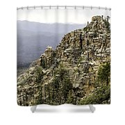 Up In The Clouds Shower Curtain