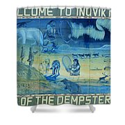 Up North ... Shower Curtain