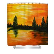 Up North Shower Curtain