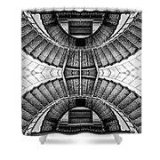 Up Or Down - Piedras Blancas Shower Curtain