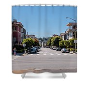 Up The Divisadero Shower Curtain