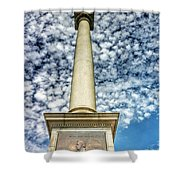 Up The Lovejoy Monument  Shower Curtain