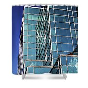 Up Town Phoenix Building Shower Curtain