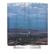 Up, Up And Away Shower Curtain