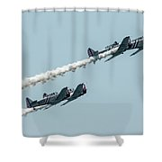 Up Up Up  Shower Curtain