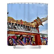 Up We Go Shower Curtain