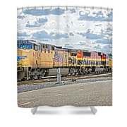 Up6014 Shower Curtain