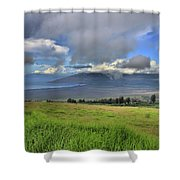 Upcountry Maui Shower Curtain
