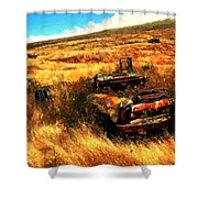 Upcountry Wreck Shower Curtain